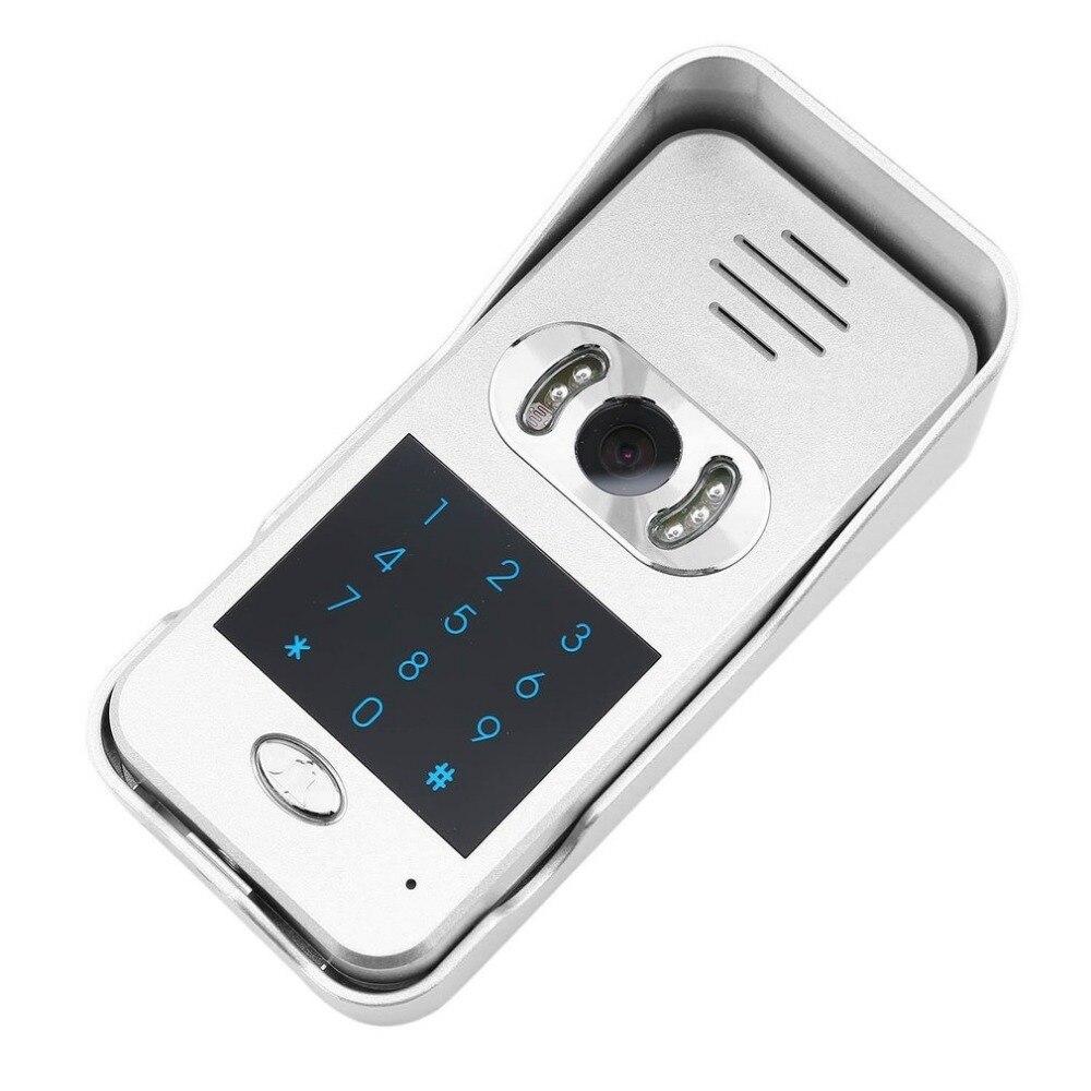 Intelligent Électronique Cat Eye WIFI Vidéo Interphone Sonnette Sans Fil À Domicile Appelant Dispositif Infrarouge de Vision Nocturne Capteur