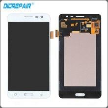Blanco Para Samsung J3P J3110 Smartphone Pantalla LCD Monitor de Panel de la Pantalla Táctil con digitalizador de Reemplazo Completo de Montaje de Piezas
