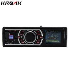 12 В стерео Радио Bluetooth MP3 аудио плеер Поддержка Bluetooth телефон USB/SD AUX-IN/fm Порты и разъёмы автомобиля радио в тире