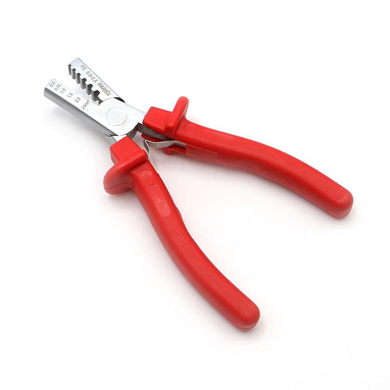 Mini Petit Embouts Outil À Sertir pince À Sertir Pour Câble Fin Manches L15