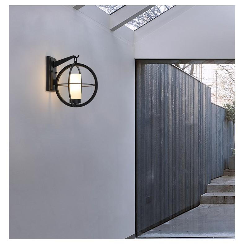 Nordic lâmpadas de parede moderna terra conduziu