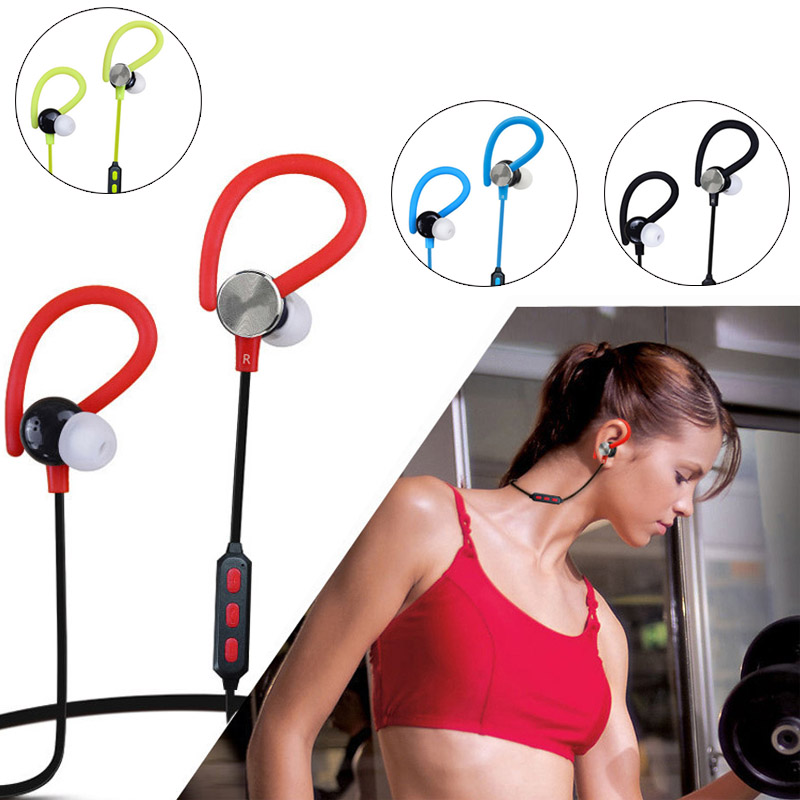 New Bluetooth Headset With Mic Earphone Headphones Handsfree Call Sport Stereo Music for iPhone 7 Plus HUAWEI Mate 9 GDeals bh790 stereo v4 1 bluetooth wireless headphones car driver handsfree with mic earphone business headset for iphone android sp029