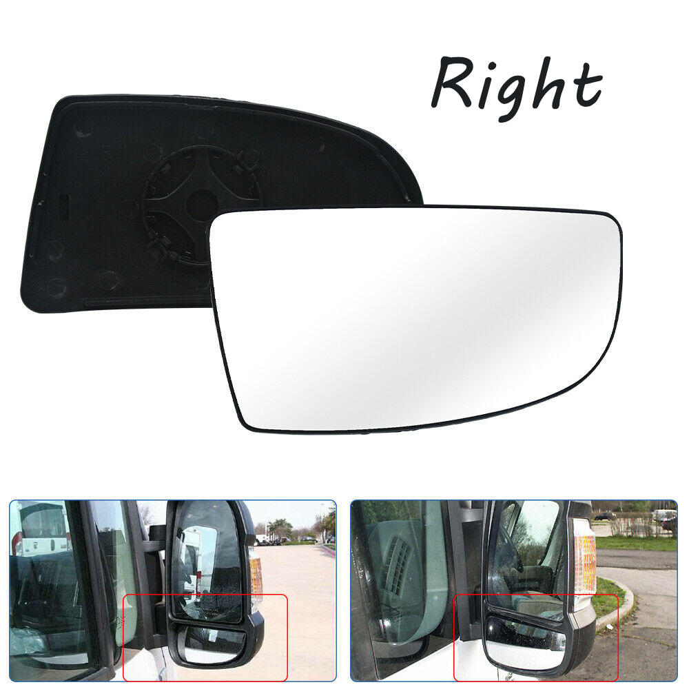 Left Passenger side Wide Angle mirror glass for Ford Mondeo 2014-On heated plate
