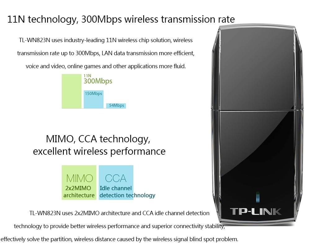 Tp Link Usb Wifi Adapter 300m Wireless Card Tl Wn823n Wn 823n 300mbps Getsubject Aeproductgetsubject