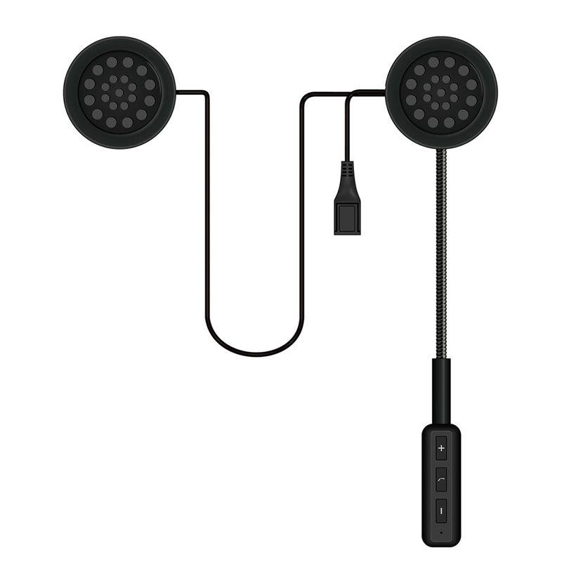 2019 NEW Motorcycle Helmet Bluetooth Headset Earphone With Handsfree Mic Music Call