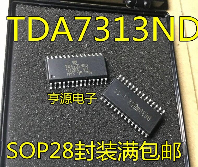 2pcs/lot TDA7313ND TDA7313 TDA7313N SOP-28 In Stock
