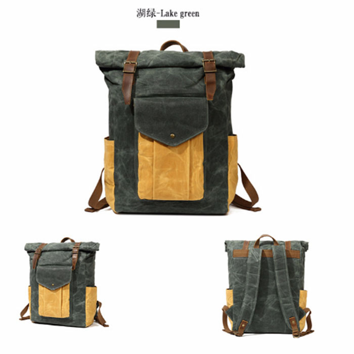 Vintage Military Waterproof Canvas Backpacks Men/Women School Backpacks Men Travel Bag Big Canvas Backpack Large Bag zuoxiangru vintage canvas women men backpack army style notebook men rucksack military 15inch laptop school backpacks women