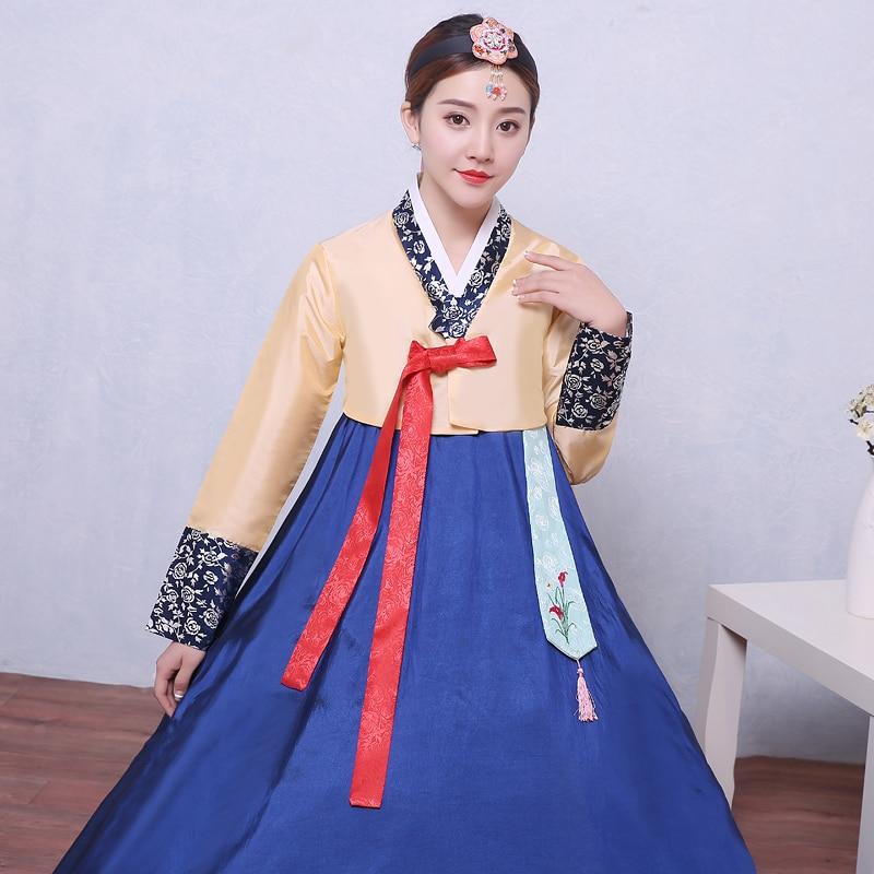 69aabec703 US $32.18 45% OFF New Design Woman Elegant Korean Traditional Costume  Korean Hanbok Dae Jang Geum Dance Costume Lady National Clothing-in Asia &  ...