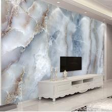 На заказ любой размер абстрактная мраморная каменная настенная ткань для гостиной диван ТВ фон настенная декоративная настенная бумага водонепроницаемая настенная роспись