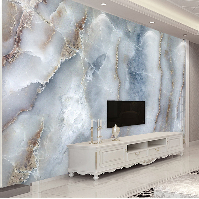 Awe Inspiring Us 8 85 49 Off Custom Any Size Abstract Marble Stone Wall Cloth Living Room Sofa Tv Background Wall Decorative Wall Paper Waterproof Wall Mural In Download Free Architecture Designs Saprecsunscenecom