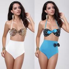 COSPOT купальник женский из двух частей купальник пуш-ап бикини Купальник для женщин высокая талия женский купальник костюм
