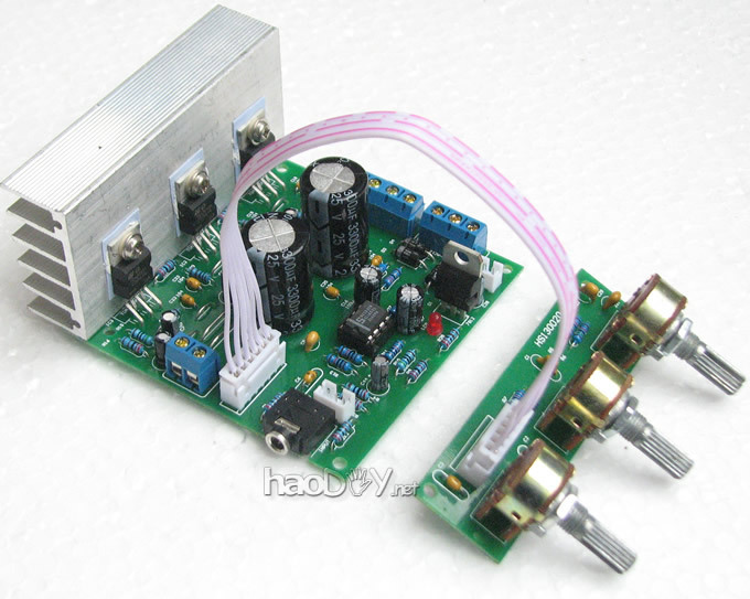 Kitchen Appliance Parts French Lace Curtains Tda2030a 2.1 3 Channel Amplifier Board Subwoofer ...