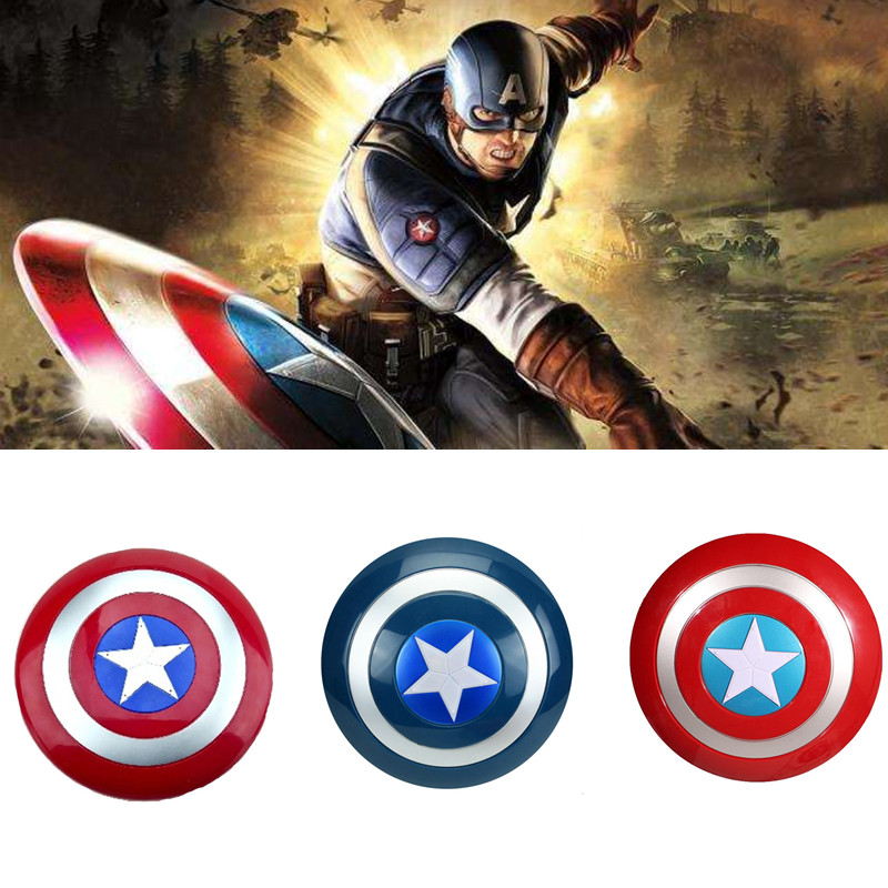 Voice flash Shield For Captain America Costume with LED light Children Captain America Shield Cosplay Carnival Purim party props image