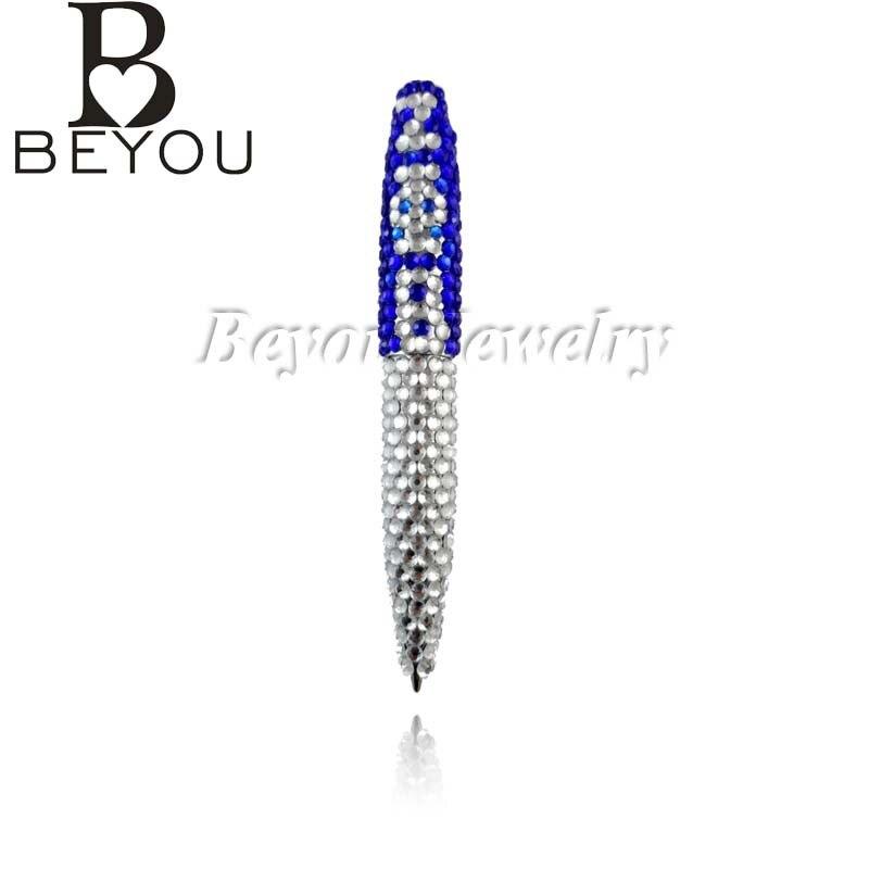 zeta phi beta sorority bling pen greek letters fashion custom jewelry gift pen zpb pen