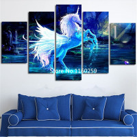 Rhinestone Painting Crystal Home Decor 5d DIY Diamond Painting Beauty Unicorn Multigang Figure Cross Stitch Diamond