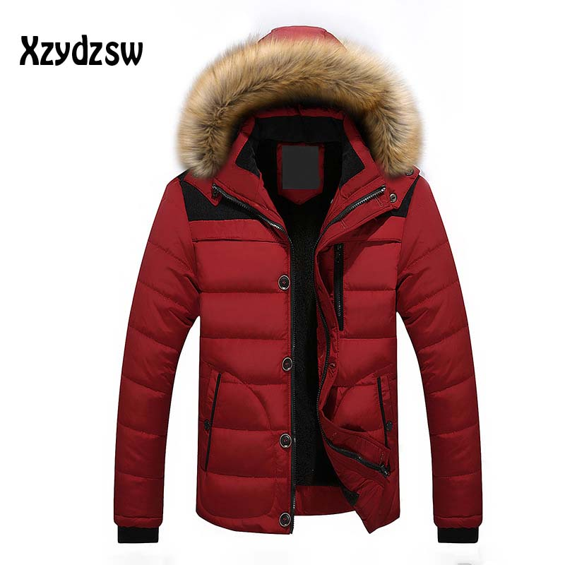 Winter Jacket Men White Duck Down Long Jackets Keep Warm Coat Casual Mens thick Down Overcoat Jackets parka homme Canada goode