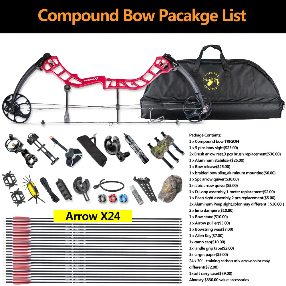 Ship From Usa Topoint Archery Trigon Compound Bow Full Packagecnc Wiring Diagram Information List