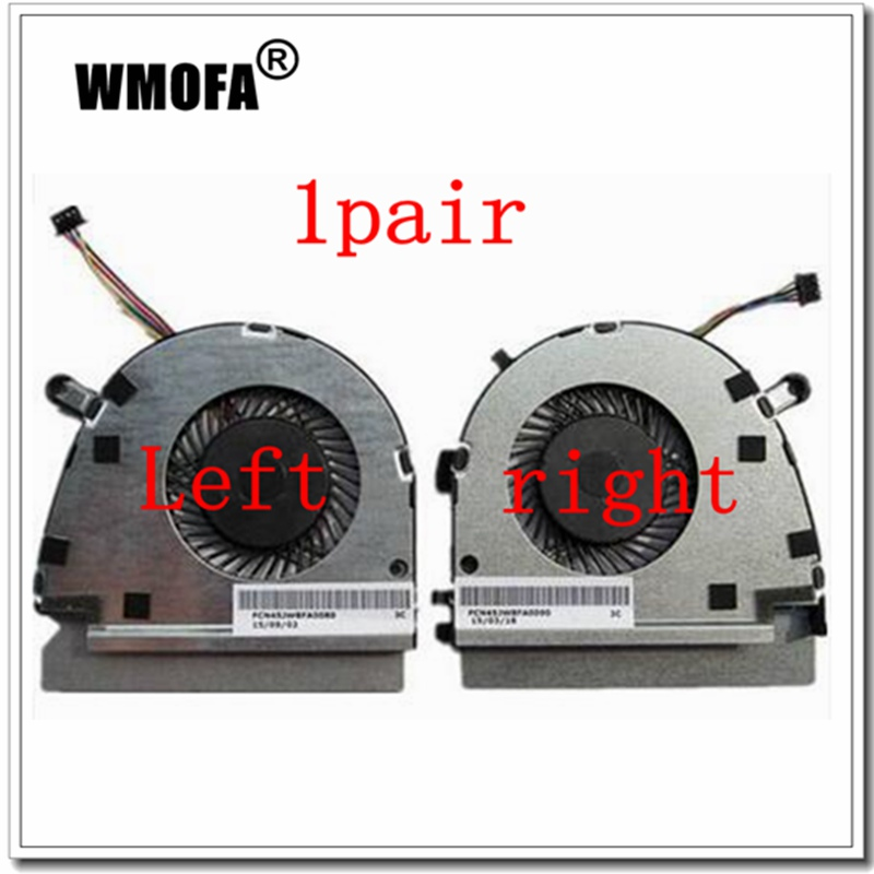 1 pair NEW Laptop cpu cooling fan for DELL VOSTRO 5460 V5460 V5470 new original cpu cooling fan for dell v5460 v5470 inspiron 14 5439 vostro 14z 3526 laptop cooler radiator graphics card fan