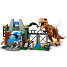 Бела 10920 Динозавры юрского периода тираннозавр рекс строительные блоки кирпич Совместимость LegoIN техника 10758 Playmobil игрушки