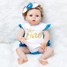 Newborn Baby Doll Reborn Christmas Gifts Toys For Girls 55cm Silicone Reborn Kids Dolls Clothes Sleeping Baby Realistic Soft