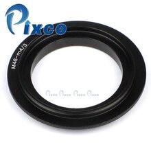 Anillo adaptador inverso Macro de lente de 46mm para cámara Micro cuatro TERCIOS