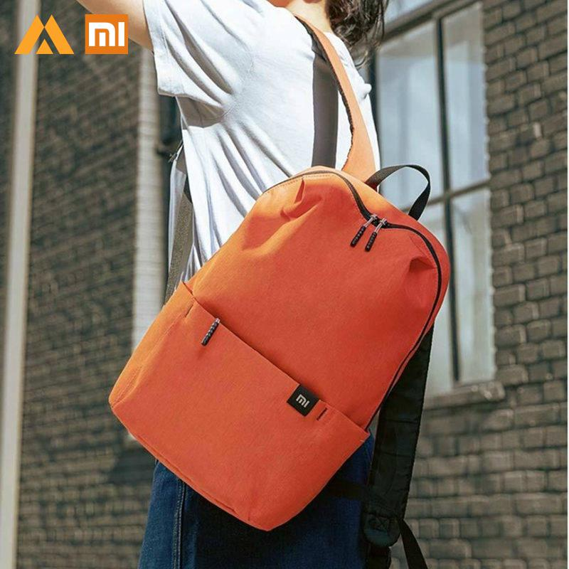 Original Xiaomi 10L Back Mi Pack Colorful Leisure Sports Chest Unisex For Mens Women Travel Camping Leisure Backpack Bag