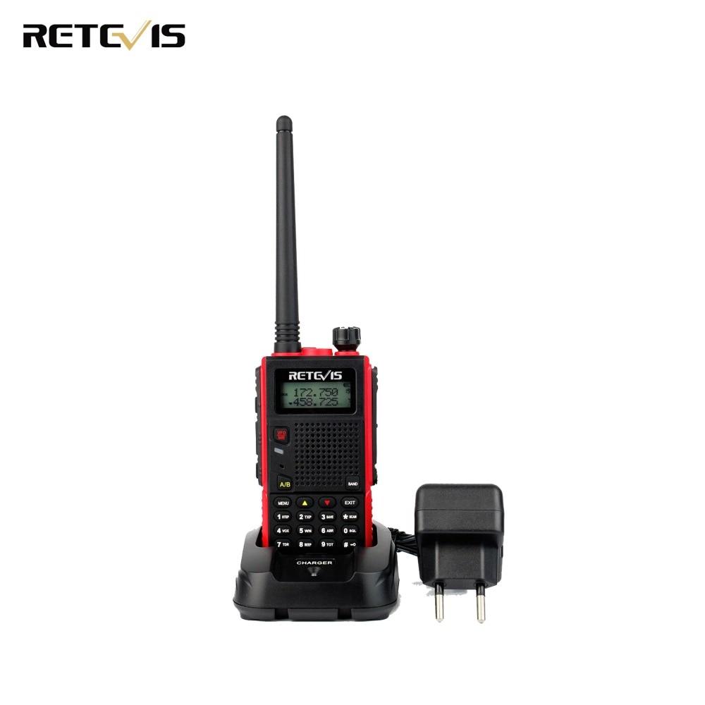 עמיד ווקי Talkie Retevis RT5 Dual Band VHF / UHF - ווקי טוקי