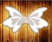 Contemporânea conduziu a luz de parede com borboleta abajur para o banheiro quarto 24 w arandela branco iluminação interior lâmpada arylic