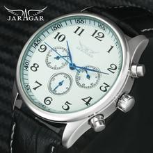 JARAGAR Fashion Business Automatic Mechanical Watch Men 3 Wo