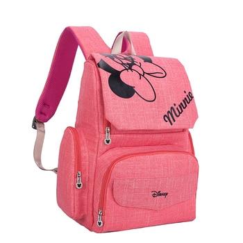 Disney Mickey Minnie Baby Luiertassen Bolso Moeder Wandelwagen Luiertas Rugzak Moederschap Mama Bag