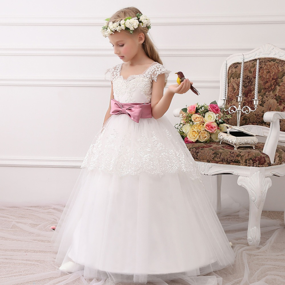 Dresses For Flower Girls For Weddings: HighBuy 2017 Formal Party Formal Flower Girls Dress Baby