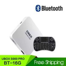 TV Box Ubox III  IPTV Gen.3 S900 Pro Bluetooth Version 4K 32gb Smart TV Box HD Network Media Player WiFi Android 5.1 System