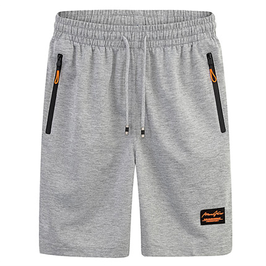 Zipper Pocket Mens Shorts With Pockets Solid Polyester ...