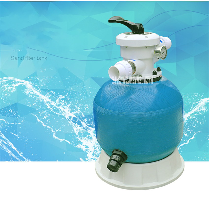 Top Type Fishpond Sand Filter Swimming Pool Equipment Water Treatment For Water Paradise Massage Pool Water Filtration 21inch