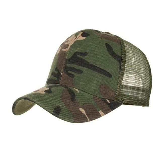 Fashion Snow Camo Baseball Cap Men Tactical Cap Camouflage Snapback Hat caps  for men Mesh Cap 76bac1eff989