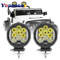 4 inch LED Work Light Bar Off Road for Jeep SUV ATV Spot Flood Combo Beam Rear Backup Driving Lamps
