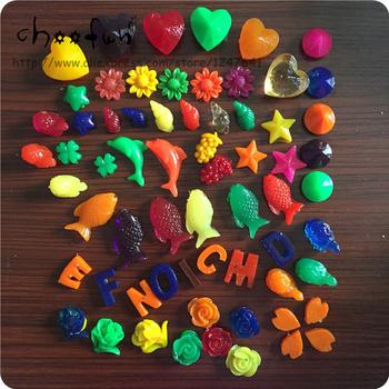 50 g partia mieszany kształt kreskówki rosnące kule wodne kolor łatwe złamane zabawki koraliki wodne Crystal gleby tanie i dobre opinie funbeads CTH50g cartoon mix Kids Toy