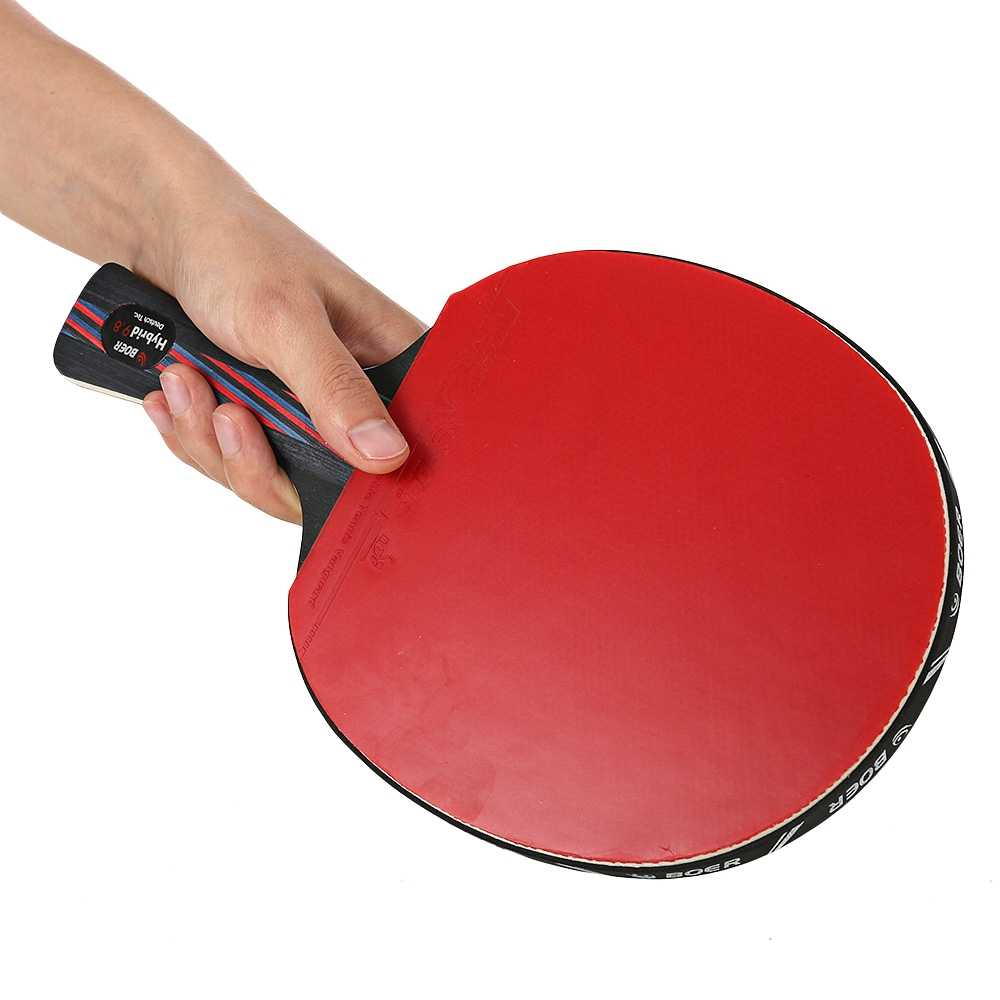 High Quality Table Tennis Rackets Ping Pong Paddle Long/Short Handle New Player Finished Rackets Racquet Sports Stiga Rackets