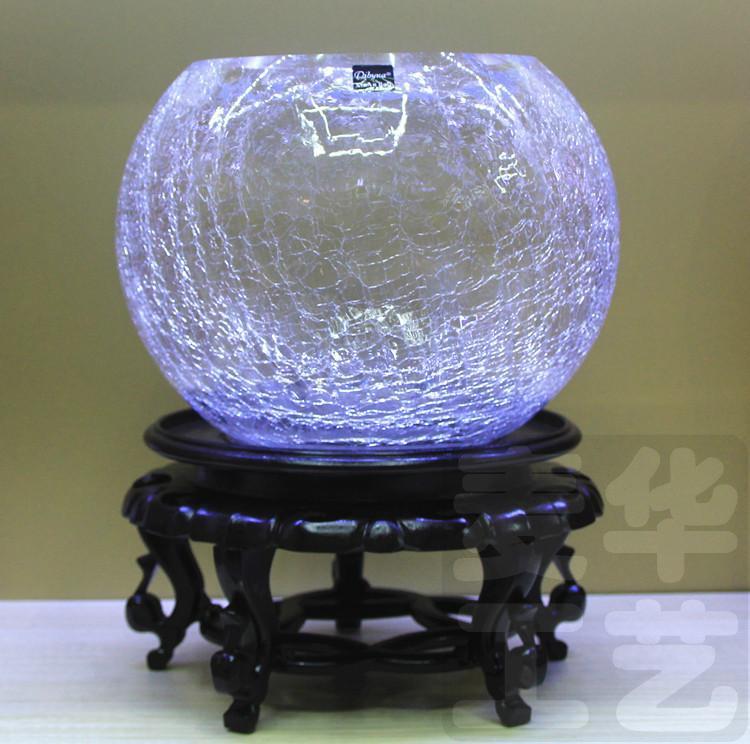 Broken Glass Vase: Free Postage Exquisite Creative Broken Glass Vase Ice Ball
