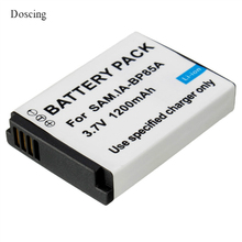 1200mAh IA-BP85A BP85A BP-85A BP 85A Rechargeable Camera Battery For Samsung ST200 ST200F PL210 WB210 SH100 with tracking Number