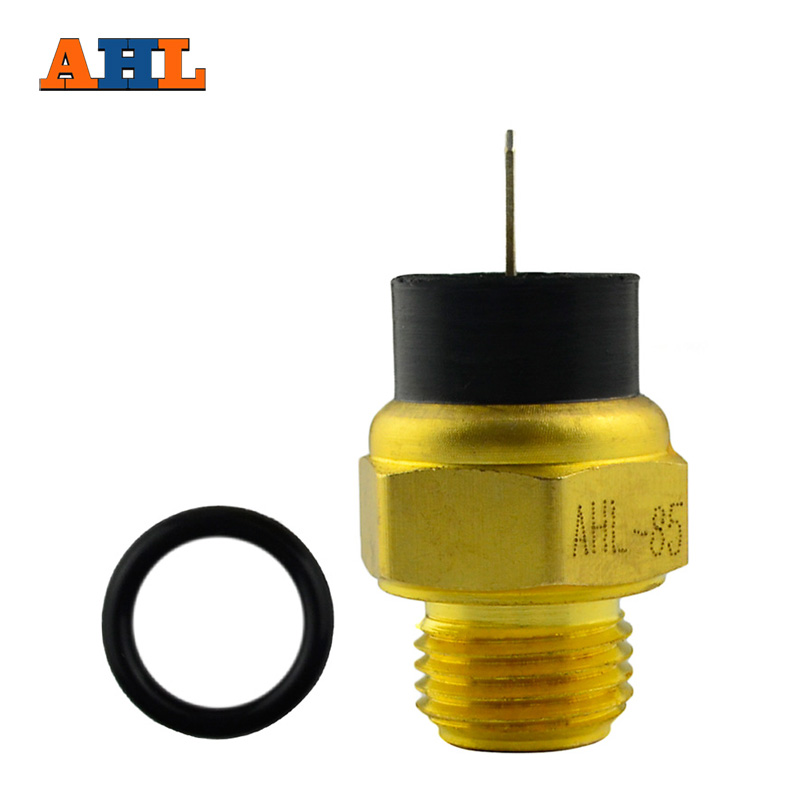 AHL Motorcycle Parts Radiator Water Temperature Sensor for <font><b>Kawasaki</b></font> <font><b>ZXR250</b></font> ZXR400 ZRX400 ZZR400 Water Thermostat Switch image