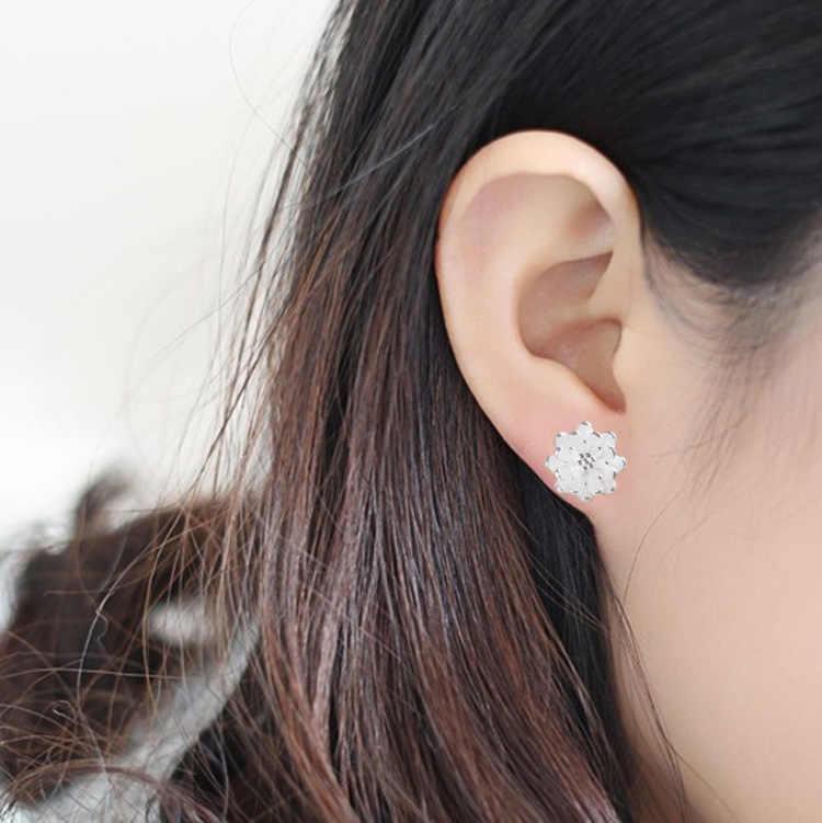 ขายร้อน Kiteal ขายส่ง Lotus Cherry blossoms ต่างหูอุปกรณ์เสริม 925 เครื่องประดับสตรีสวยหรูเครื่องประดับของขวัญ