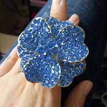 Женское кольцо с цветком в форме сердца эластичное для ночного