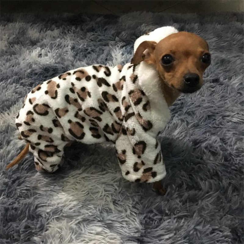 Moda miękki wzór w cętki pies ubrania płaszcz kostium yorkshire chihuahua odzież dla psów mały szczeniaczek płaszcz