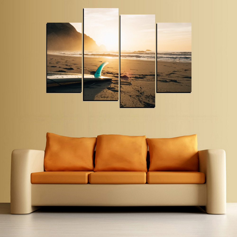 Surf Wall Decor Image collections - home design wall stickers