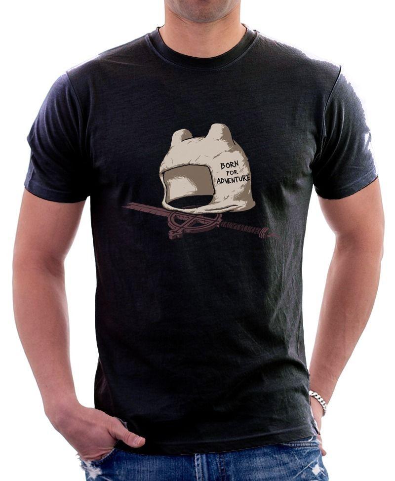 Возьмите Приключения Время Финн человека Шапка Джейк чёрный; коричневый с принтом хлопковая Футболка 9704 новый металл короткий рукав Повсед...