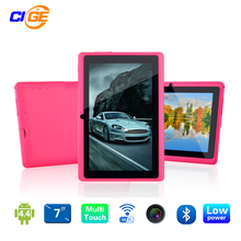 "Venta grande!!! 7 ""Android 4.4 Q88 ProAllwinner A33 Quad Core 512 MB/8 GB 1024*600 de Doble Cámara Bluetooth WIFI Android tablet pc"