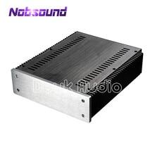 Heat Dissipation Aluminum Chassis Power Amplifier Case DIY Box_W226.5*H70*D271mm