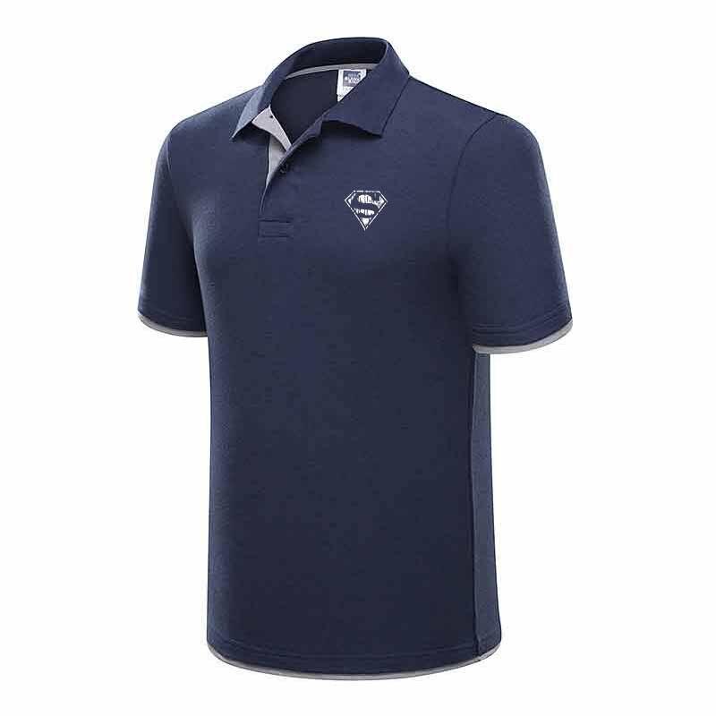New 2017 Men's Superman   Polo   Shirt for Men Designer   Polos   Men Cotton Short Sleeve Shirt Brands Jerseys Golftennis