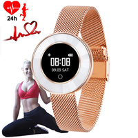 Women Smart Watch Blood Pressure Monitor Wristwatches Calorie Yago Pedometer Sport Watch For Woman Fashion Led Clock Android ios